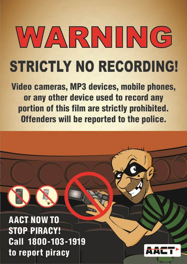 Anti-Camcording Campaigns - Fight Film Theft